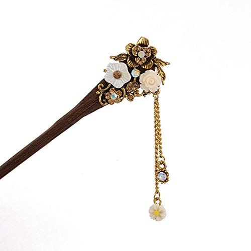 Used, Halica Chinese Style Wood Hair Sticks Vintage Hair for sale  Delivered anywhere in Canada
