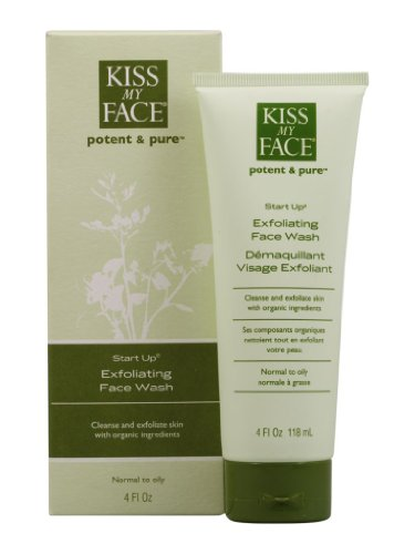Kiss My Face Exfoliating Face Wash - 3