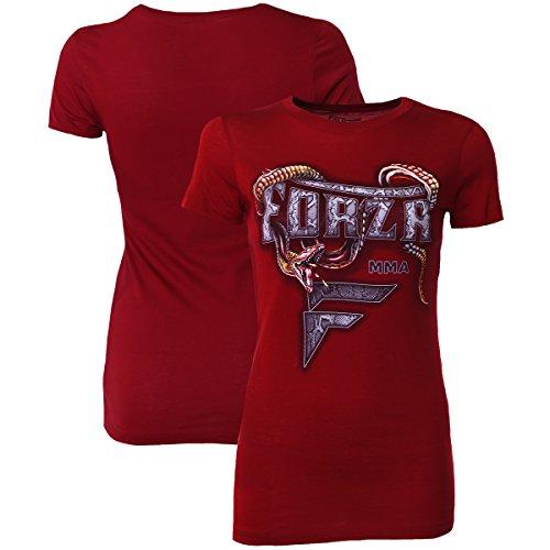 Forza Sports Women's Slither MMA T-Shirt – Scarlet – DiZiSports Store