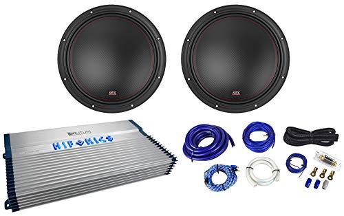"""MTX 7512-44 12"""" 3000w Car Audio Subwoofers Subs+Hifonics Am"""