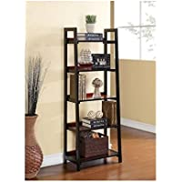 Linon Camden Five Shelf Bookcase