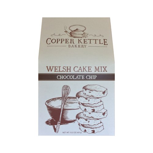 Chocolate Chip Welsh Cake Mix by Copper Kettle Bakery