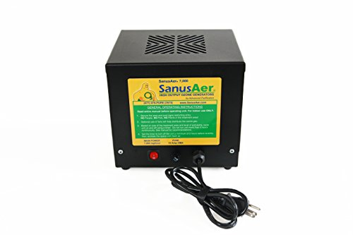 SanusAer 7000mg/Hour Professional O3 Ozone Generator Air Purifier Deodorizer Sterilizer Industrial Residential Odor Removal