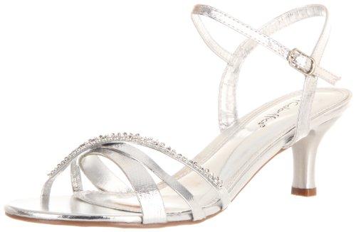 - Coloriffics Women's Maryann Sandal,Silver,8 M US