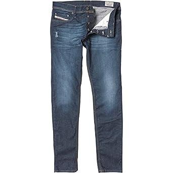 "7eea0b04 Mens Diesel Tepphar 0RM31 Jeans Blue Denim Guys Gents (38x32 38"" ..."