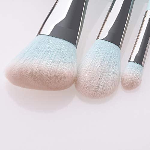 IYU_Dsgirh - Pinceles de maquillaje (12 unidades, nailon de ...