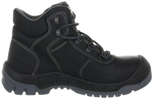 Wortec ACHIM S3 63001 - Botas de cuero unisex Negro