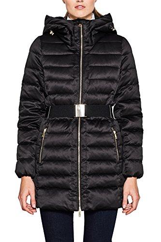 001 black Femme Noir Manteau Esprit Collection Xq8CAA