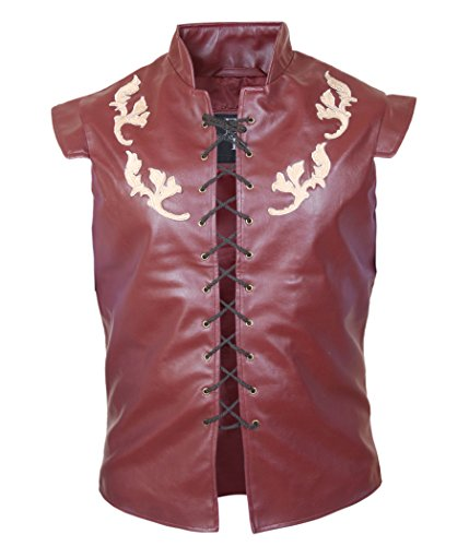 F&H Men's Game Of Thrones Peter Dinklage Tyrion Lannister Vest Maroon