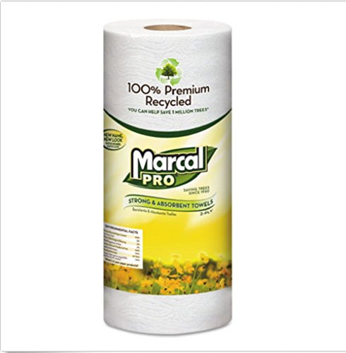 100% Premium No dyes or fragrances added Virtually lint-free. Recycled Perforated Towels, 11 x 9, White, 70/Roll, 15 Rolls/Carton (Meat By Lafrieda compare prices)