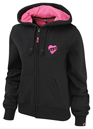 MusclePharm - Chaqueta deportiva - para mujer Schwarz / Pink