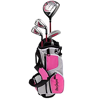 MacGregor Tourney II Junior Golf Clubs Package Set for Girls Ages 6-8