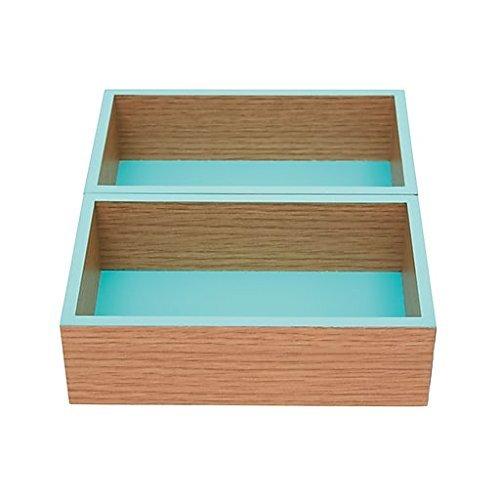 Office by Martha Stewart 2 Modular Trays Blue