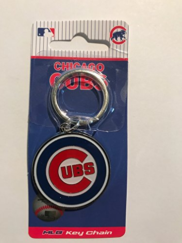 - MLB Chicago Cubs Team Key Chain, Metal, One Size