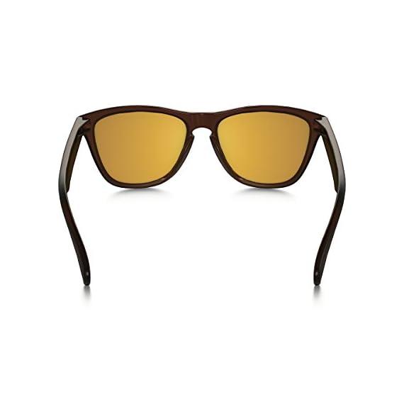 efbb78db659 Oakley Men s Frogskins Non-Polarized Iridium Wayfarer Sunglasses 3 patented  high definition optics (HDO