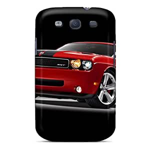 Protective Cell-phone Hard Covers For Samsung Galaxy S3 (Rio16210lUJK) Customized Vivid Dodge Challenger Skin
