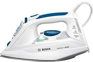 Bosch Sensixx'x DA30 TDA302401W Blanco - Plancha (2 m, Blanco, 40 g/min, 0,32 L, 2400 W)