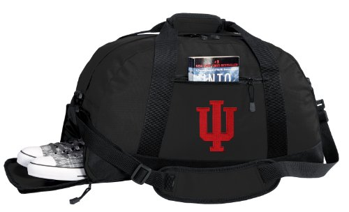 NCAA Indiana University Duffel Bag - IU Gym Bags w/ SHOE POC