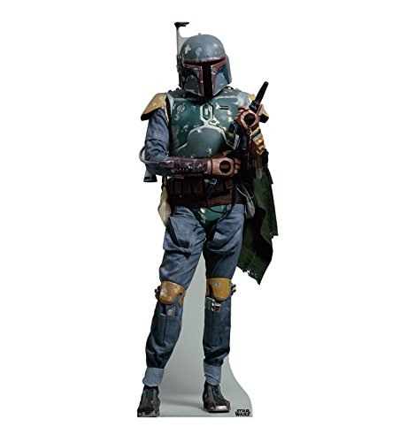 Advanced Graphics Boba Fett Life Size Cardboard Cutout Standup - Star Wars Classics (IV - -