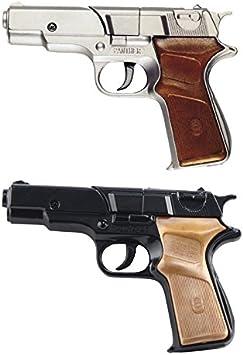 Générique Pistola Panther Metal, 8tiros, 18cm