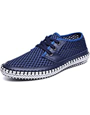 1271005a8f7 MOHEM Mens Womens Casual Mesh Water Shoes