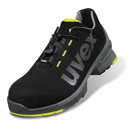 """UVEX Zapatos de seguridad (""""UVEX 1S2, SRC, alcance 11 negro"""