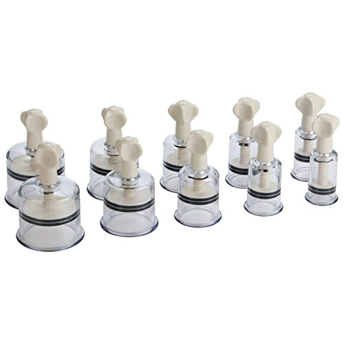 Boby Cupping Therapy Sets Acupuncture Cupping Set 10 pcs Vacuum Massage Chinese Suction Cups with Magnetic Insert No Pump Required - Pump Suction Cup