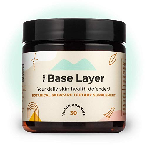 Sundaily - The Base Layer - Skin Care in a Daily Gummy | Your Skin Health and Beauty Defender | Fight Daily Skin Stressors with a Botanical Skincare Dietary Supplement | Ingestible Clear Skin Vitamin