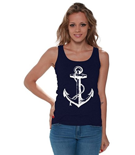 Awkwardstyles Womens Anchor Marine Bookmark