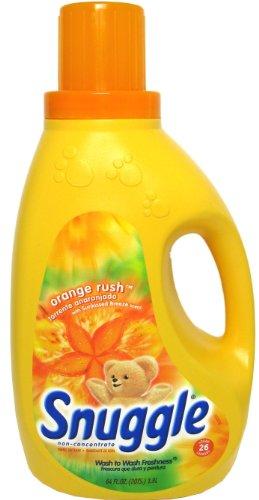 Snuggle Orange Rush Liquid Fabric Softener, 64 oz