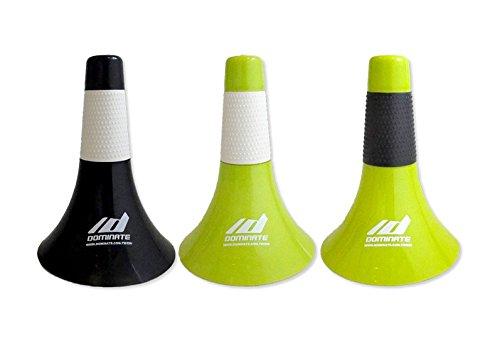 DOMINATE(ドミネイト) 正規品 バスケットボールコーン B07C59GTTK Cone) (Rip Cone) リップコーン:22個入り 緑色+白色グリップ 正規品 B07C59GTTK, あだちねっと 美米屋:d7b82dc7 --- alumnibooster.club