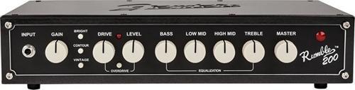 Fender Rumble 200 200-watt Bass Amp Skull