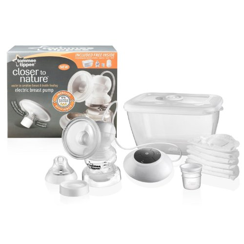 Tommee Tippee Closer to Nature Electric Breast Pump BPA Free