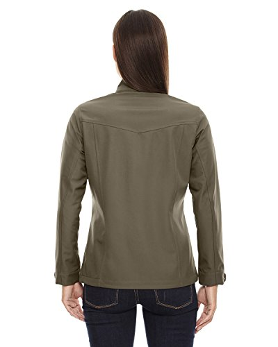 Dk layer Light 487 '3 Travel Orecast Oakmoss Giacche Shell Soft Bonded End Ladies North XwUxIHqPBq