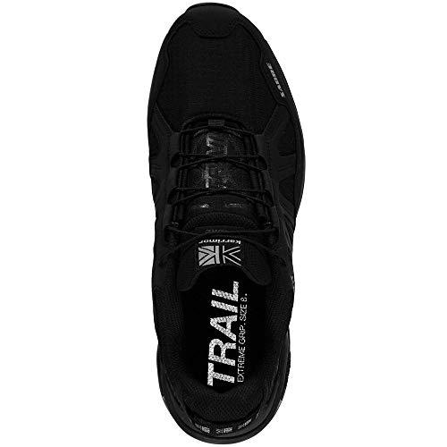 Men's Sabre Shoes KARRIMOR Black Trail Running p0W5nFz