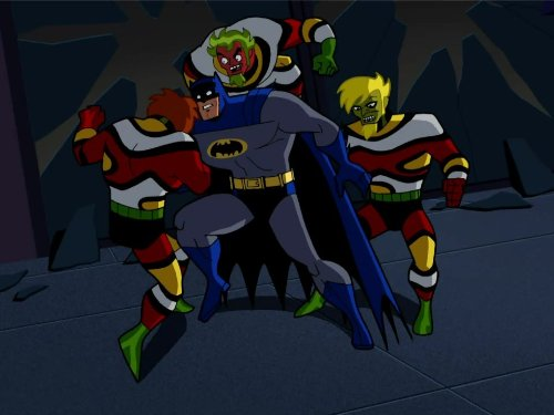 Menace of the Madniks! (Batman The Brave And The Bold Booster Gold)