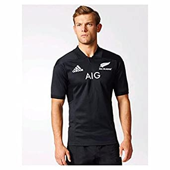 adidas AB H JSY Y Camiseta Oficial 1ª Equipación All Blacks ...