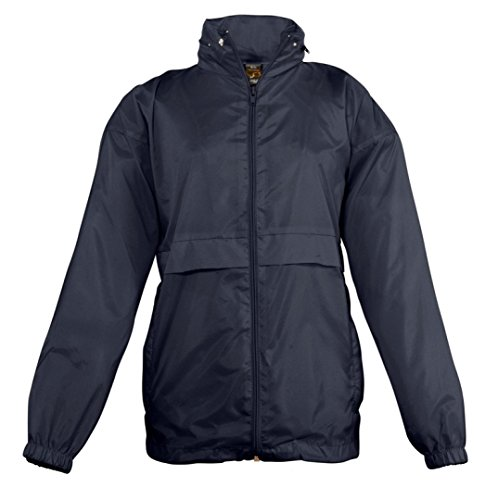 Kids Windbreaker SOLS Navy Surf Jacket pwaOCAnq