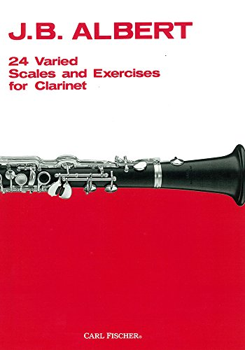 O99 - 24 Varied Scales and Exercises for Clarinet