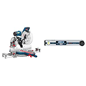 Bosch Professional GCM 12 GDL 110 V + Bosch Professional Digital Angle Measurer GAM 220 MF