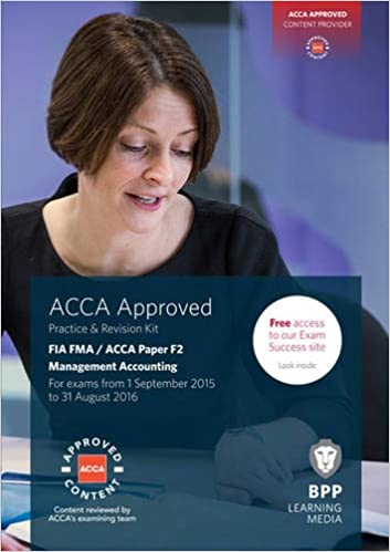 FIA Foundations in Management Accounting FMA (ACCA F2