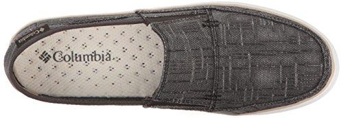 Columbia Womens Vulc N Sfogo Slip Outdoor Uniforme Scarpa Vestito, Fossile