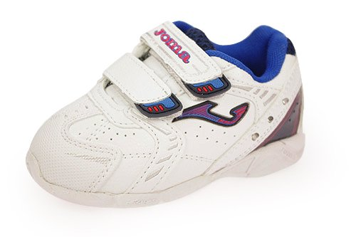 Zapatillas luces JOMA BLANCO-AZUL LIGHT JR VELCRO - 29: Amazon.es: Zapatos y complementos