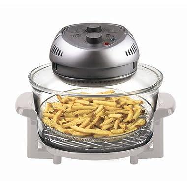 BIG BOSS 1300-Watt Oil-Less Fryer, 16-Quart