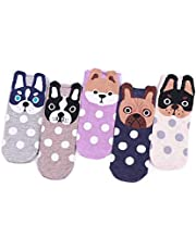 TY Clothing Girls & Women Cartoon Funny Cute Animals Patterned Socks 7