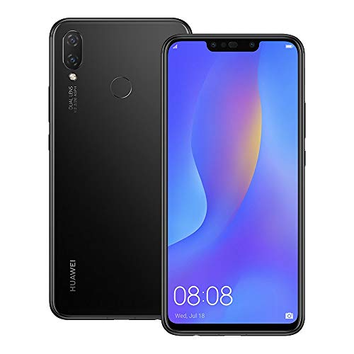 ab126e11ec44 Huawei nova 3i (INE-LX2) 4GB / 128GB 6.3-inches Dual SIM Factory Unlocked -  International Stock No Warranty (Black)