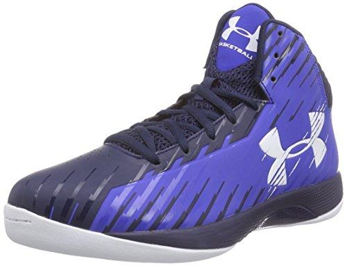 Under ArmourUa Jet - Zapatos de Baloncesto hombre Azul - Blau (TRY/MDN/BEB 402)