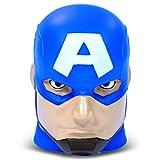 Marvel Captain America ''illumi-mate'' Colour Changing Light, Blue, 11 x 9 x 12cm