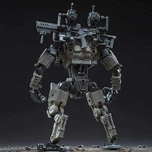 it if it Mecha Model Soldier Model Construction Toy Removable DIY - Fifth Generation Strikes Mecha (22cm Height)