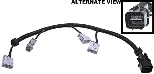 APDTY 112845 Ignition Coil Pigtail Connector Complete Wiring Harness Assembly Fits 2006-2011 Hyundai Accent 1.6L 2006-2011 Kia Rio 1.6L 2006-2011 Kia Rio5 (Replaces 27350-26620)